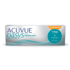 1 Day Acuvue Oasys for Astigmatism (30 линз)